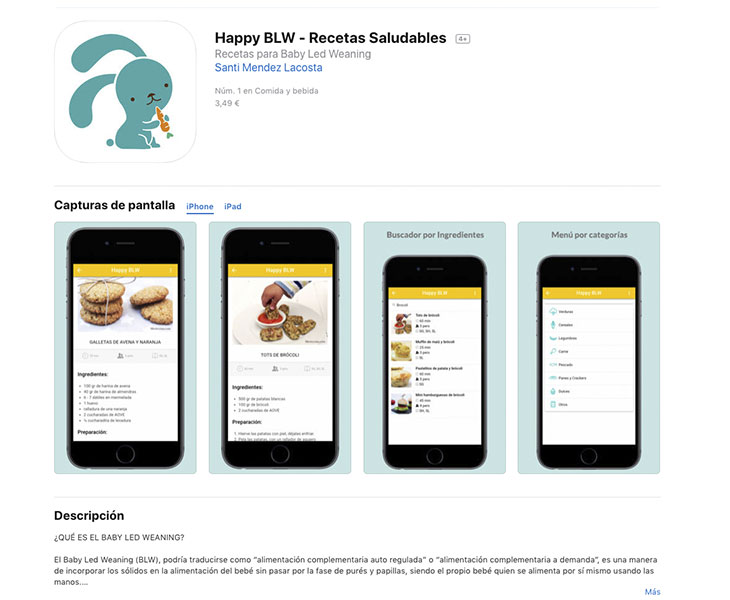 Happy BLW app iOs