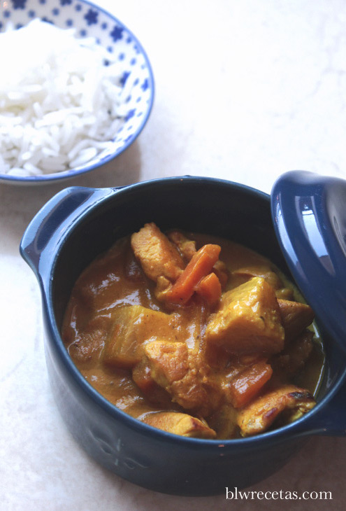 curry de pollo